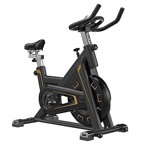 SKYWPOJU Bicicleta de Fitness ergonómica para una Bicicleta de Fitness silenciosa Bicicleta estática Bicicleta estática Máquina de Fitness 150 kg de Peso del Usuario