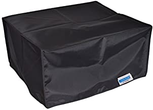 Comp Bind Technology Dust Cover for Epson Workforce Pro ET-8700 All-in-One SuperTank Printer, Black Nylon Anti-Static Dust Cover, Dimensions 16.7''W x 21.1''D x 14.1''H
