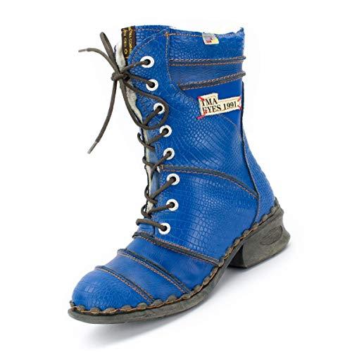 TMA Damen Winter-Stiefel 5199 Königsblau 37