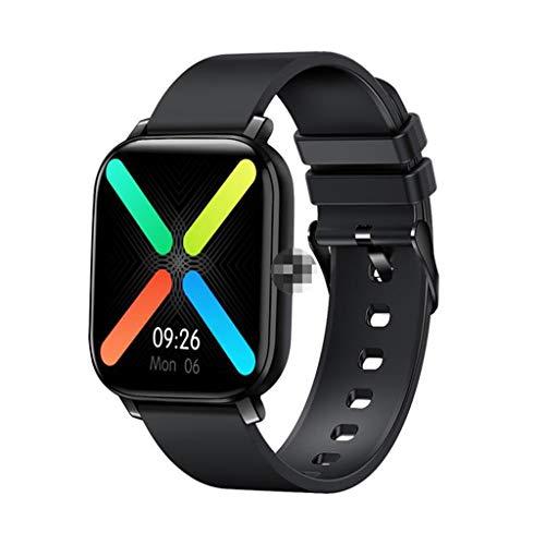 Relojes de pulsera Relojes Inteligentes Reloj Inteligente con Pantalla Táctil 2.5D con Notificación de Llamada de Mensaje, Podómetro Impermeable, Reloj Inteligente Bluetooth para Hombres, Mujeres, Niñ