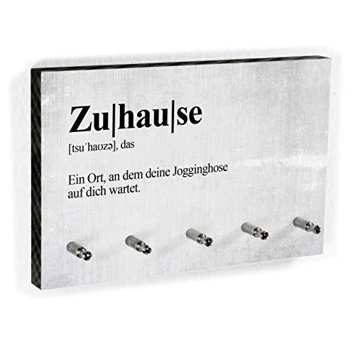 Schlüsselbrett Definition Zuhause - Schlüsselboard mit lustigem Spruch – Dictionary Style - 5 Haken - Handmade