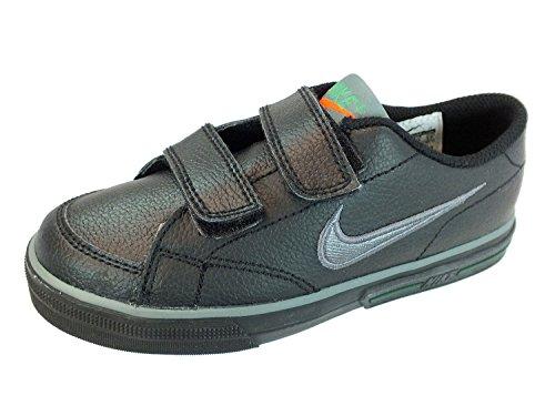 Nike Capri (PSV) 318692 019 schwarz Kinderschuhe Sneaker Leder, Farbe:schwarz, Größe:27.5