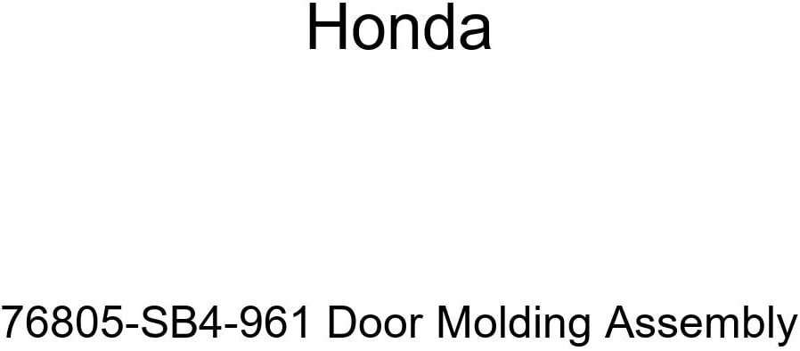 Genuine Honda 76805-SB4-961 price Door Molding Fixed price for sale Assembly