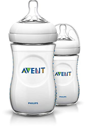 Philips Avent SCF693/27 Anti-Kolik Naturnah-Flasche 260ml, 2er-Pack, transparent