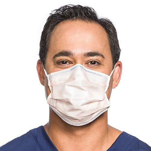 HALYARD FLUIDSHIELD 3 Fog-Free Procedure Mask, w/SO Soft Lining, 47107 (Box of 40)