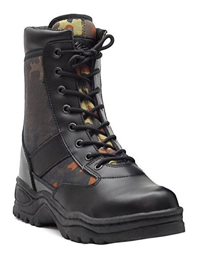 Utilisez des bottes Bottes de combat BW Bundeswehr Flecktarn - 45