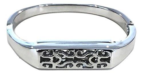 Ersatz-Armband, Metallarmband, Elegantes Armband für Fitbit Flex 2, Tracker Nicht enthalten, kleine Größe (Herz)