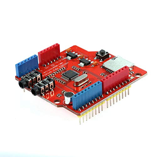 Hillrong VS1053 Stereo MP3 Player Shield Record Decode Development Board Module módulo conmutador de red