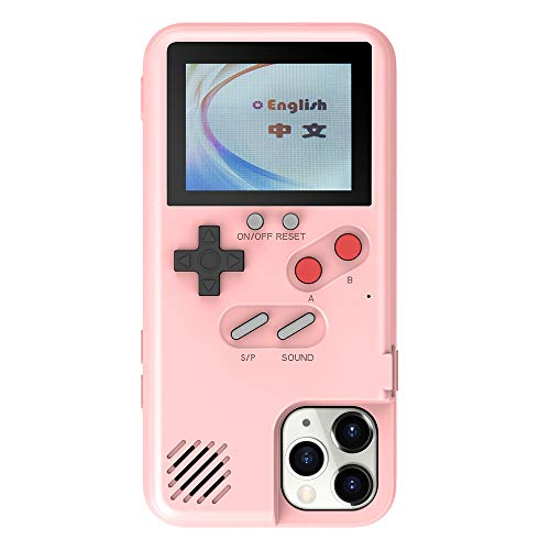 VOLMON Gameboy Case for iPhone 11 Pro, Handheld Retro Case with 36 Small Games for iPhone 11 Pro, Gaming Case for iPhone