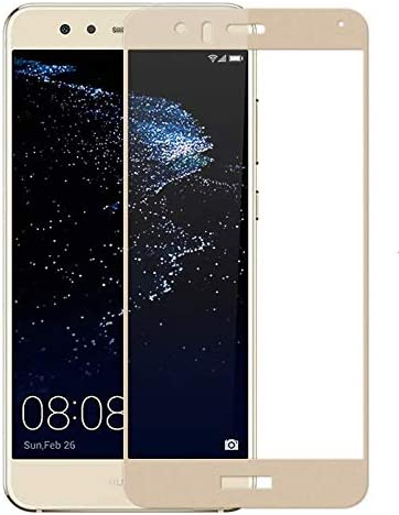 Jaorty Huawei P8 Lite 2017 Full Cover Screen Protector,Full Coverage Tempered Glass 3D Round Edge 9H Hardness Anti-Scratch HD Clear Easy Installation ...