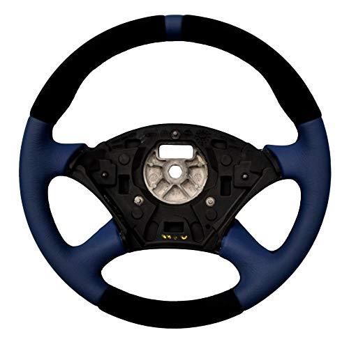 Autofun Extreme Volante con funda de piel auténtica apta para Focus MK1.