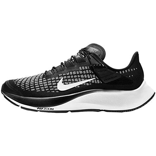 Nike W Air Zoom Pegasus 37 Flyease Casual Zapatillas de running para mujer Ck8605-003, Negro (Negro/Blanco-Gris humo), 37 EU