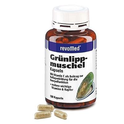 Revomed - Grünlippmuschel Kapseln mit Kupfer und Vitaminen (180 kps)