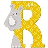 Sevi 83018 Buchstabe R Rhinozeros - 10 cm