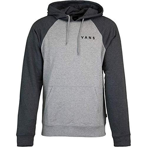 Vans Athletic Raglan - Felpa con cappuccio, da uomo grigio XL