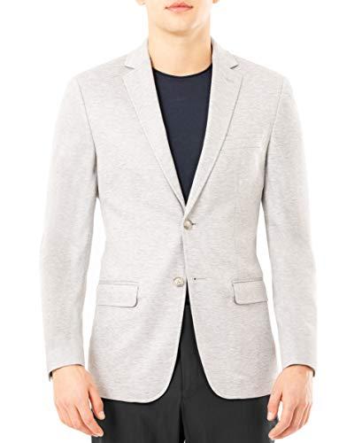 Van Heusen Men's Flex Performance Slim Fit Casual Knit Blazer, Gray, 42L