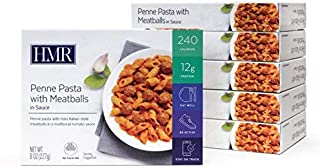 HMR Penne Pasta with Meatballs in Sauce Entree, 8 oz. Servings, 6 Count