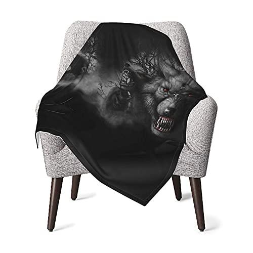 Manta ligera y suave de doble capa con respaldo de puntos para sofá, oficina, camping, recepción, manta de bebé de 76 x 100 cm