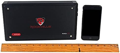 Rockville RXD-T2 Micro Car Audio Class D Amplifier 2400w 2 Chan 2x600W CEA Rated