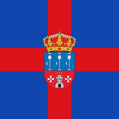 magFlags Bandera Large Municipio de Padilla de Abajo Castilla y León | 1.35m² | 120x120cm