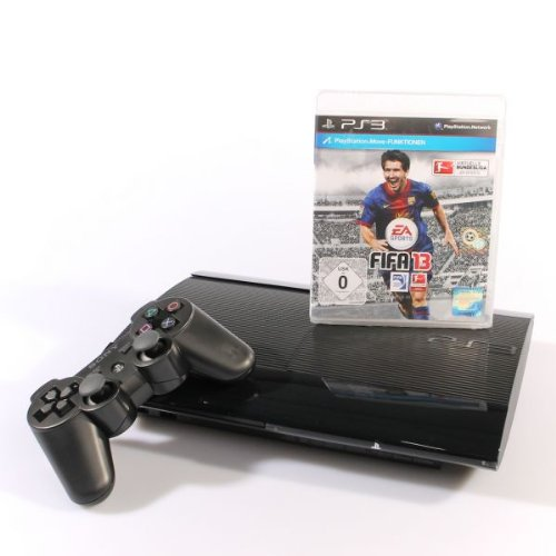 Sony Playstation 3 Konsole Super Slim 12 GB (FIFA 13)