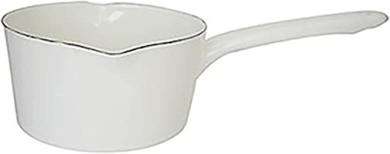 Mini Enamel Milktop Anti-Stick, Noodle Pan Ceramic Soup Pot Cookware Pink Milk Panle Small Pot Milk Canned Tea Coffee Egg ...