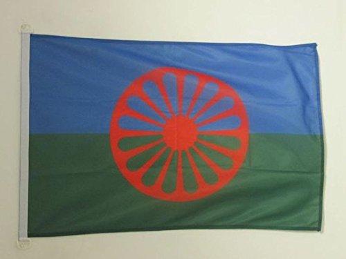 AZ FLAG Flagge Gypsy 150x90cm - Zigeuner Fahne 90 x 150 cm Aussenverwendung - flaggen Top Qualität