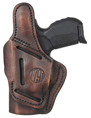 1791 GUNLEATHER Leather Gun Holster - 3 Way OWB Right Handed...