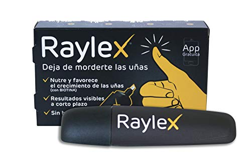 Raylex, smalto per unghie anti-rosicchiamento, con applicatore a penna – 1,5 ml