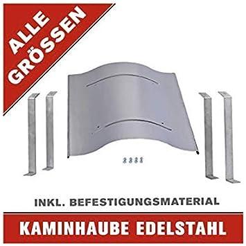 Schornsteinabdeckung Kaminhaube Kaminabdeckung ALLE GR/Ö/ßEN aus Edelstahl JETZT perfekt SCH/ÜTZEN! 70 x 90 cm