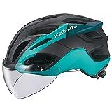 オージーケーカブト(OGK KABUTO) 自転車 ヘルメット VITT (ヴィット) カラー:G-2 マットターコイズ サイズ:L 頭囲:(59-60cm)