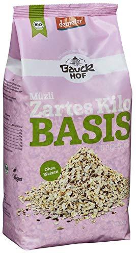 Bauckhof Bio Bauck Demeter Das zarte Kilo Basis-Müsli (6 x 1000 gr)