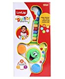 Luvlap - 18585 Musical Guitar Toy with Drum and Keyboard for Baby, Multicolor