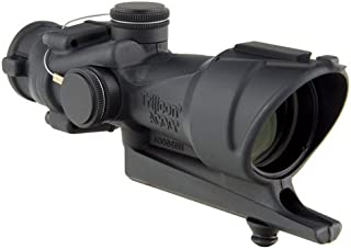 Trijicon ACOG 4 X 32 Scope Illuminated Lapd Crosshair Reticle, Red