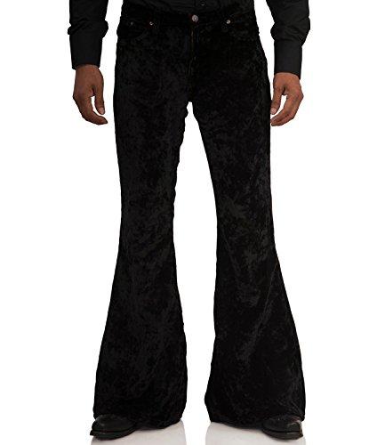 COMYCOM zwarte fluwelen broek Star