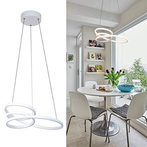 "HL 15"" Modern LED Chandelier Light..."