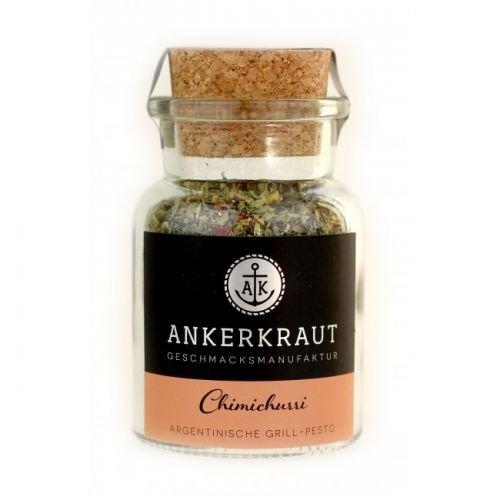 Ankerkraut Chimichurri, Gewürzmischung für argentinische Chimichurri-Sauce und Dip, 45g Korkenglas
