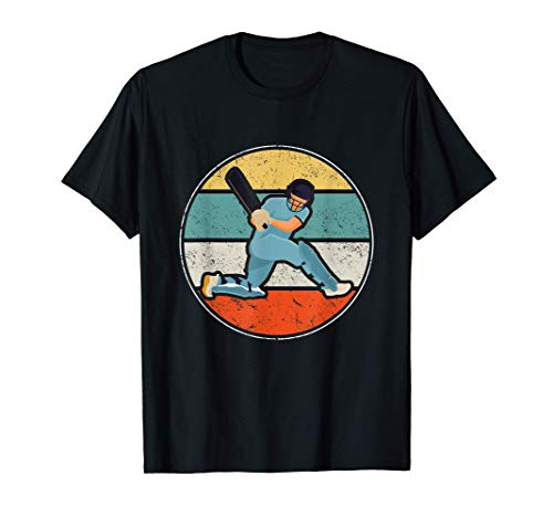 Cricket Sports Lover Gift Vintage Retro Cricket T-Shirt
