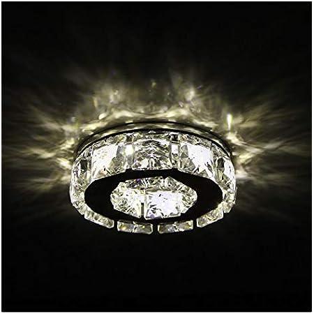 KOSILUM - Spot cristal encastrable design LED - Elena - Lumière Blanc Chaud Eclairage Salon Chambre Cuisine Couloir - 4W - - LED intégrée - IP20