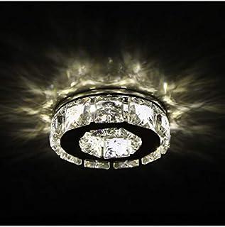KOSILUM - Spot cristal encastrable design LED - Elena - Lumière Blanc Chaud Eclairage Salon Chambre Cuisine Couloir - 4W -...