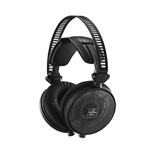 Audio-Technica ATH-R70X auricular - Auriculares (Negro, Circumaural, 5-40000 Hz, Diadema,...