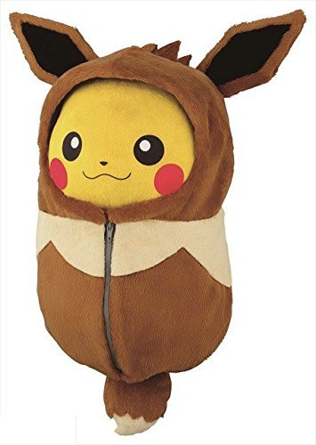 Pokemon Pikachu Ichiban Kuji Sleeping Bag Nebukuro Collection C Prize Eevee Eievui Plush doll by Banpresto