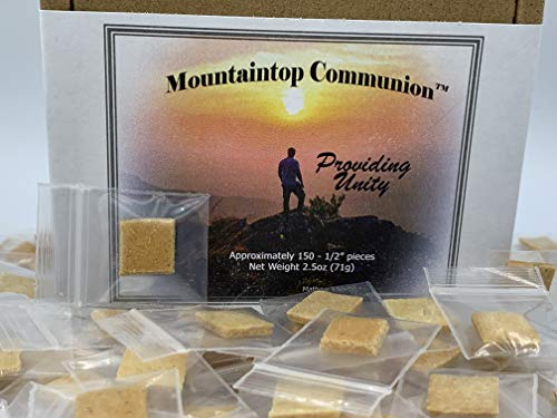 Individually Wrapped Gluten-Free Communion Bread (150 Count)