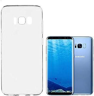 case samsung s8 full protection for mobile against falling, color black transparent