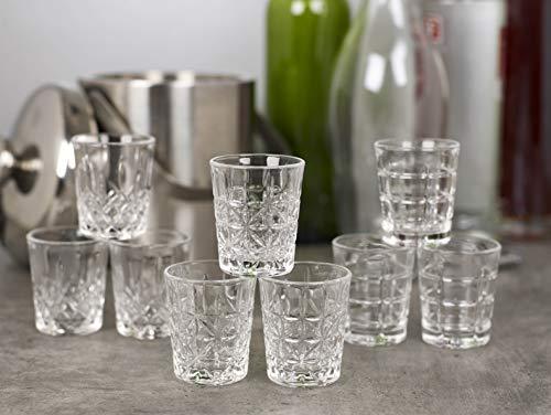 Queensway bicchierini da shot di alta qualità, 6x Regency Shot Glasses
