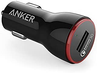 Anker Quick Charge 3.0 24W USB Car Charger, Powerdrive+ 1 for Galaxy S7 / S6 / Edge/Plus, Note 5/4 and Poweriq for iPhone X/ 8/7 / 6S / Plus, iPad Pro/Air 2 / Mini, Lg, Nexus, HTC and More