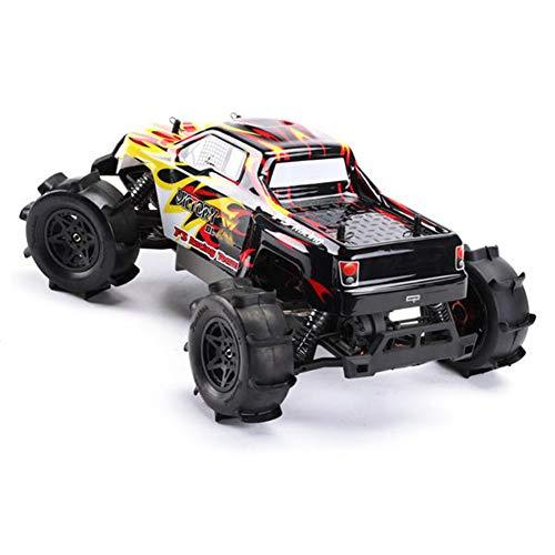 elegantstunning FS Racing RC Voiture FS-53692 1:10 2.4G 4WD Brushless Eau Monster Truck Télécommande Kid Jouet Rouge