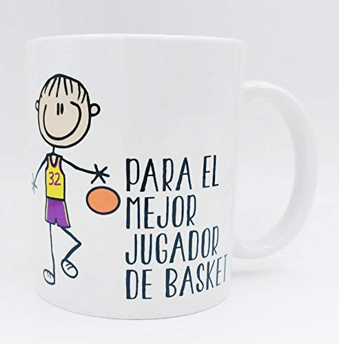Taza ''Para el mejor jugador de basket'