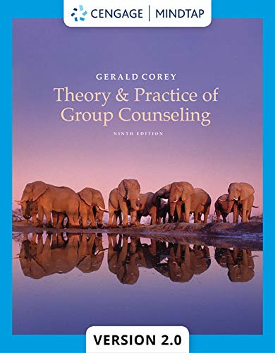 Compare Textbook Prices for Theory and Practice of Group Counseling 9 Edition ISBN 9781305088016 by Corey, Gerald