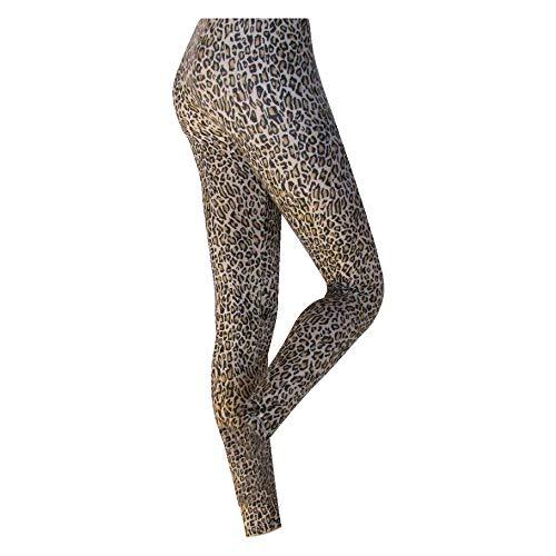 Silky - Leggings estampados modelo Leopardo para mujer (Extra Grande (XL)/Leopardo)